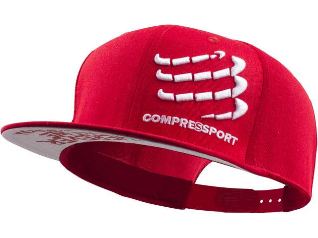 Compressport Flat Cap, red